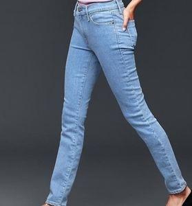 Nwt GAP Jeans Auth True Skinny Mid Rise 32R